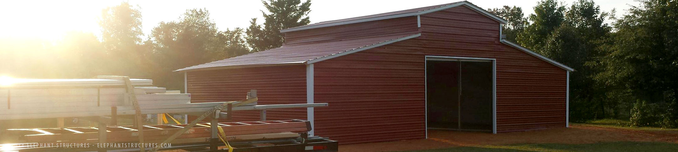 barn metal with types leanto horse buildings kits general barns steel building