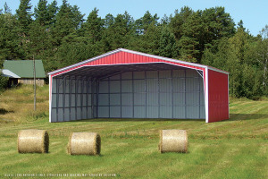 40-60' Wide Metal Buildings