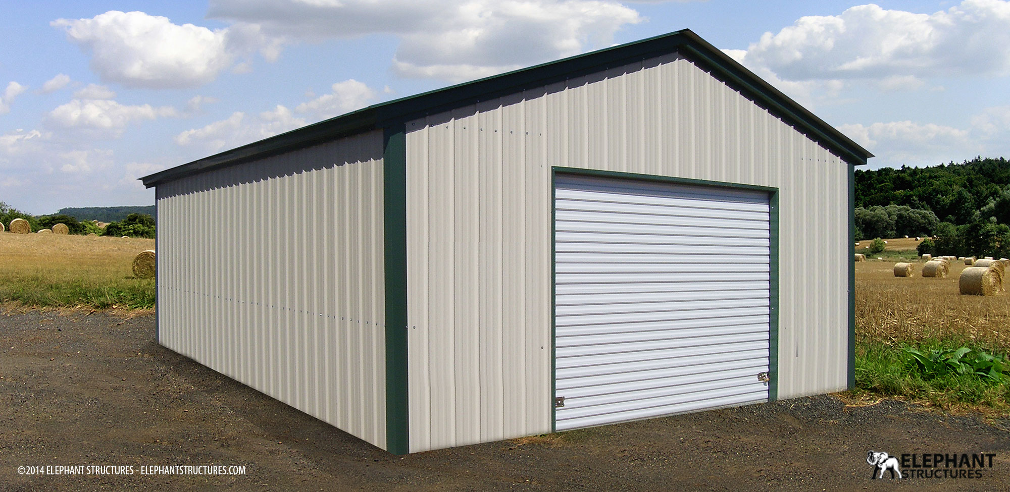 Metal buildings garages carports barns elephant for Metal garage plans