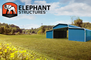 Elephant Structures Blue County Barn