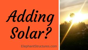 adding solar to metal storage buildings